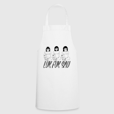 the new wisdom - Cooking Apron