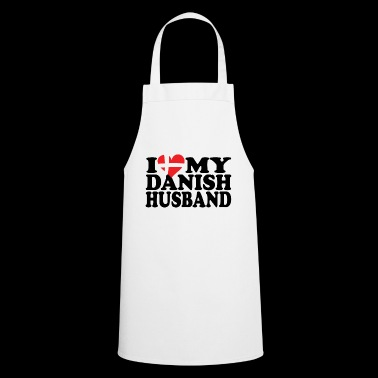 I heart my danish husband - Cooking Apron