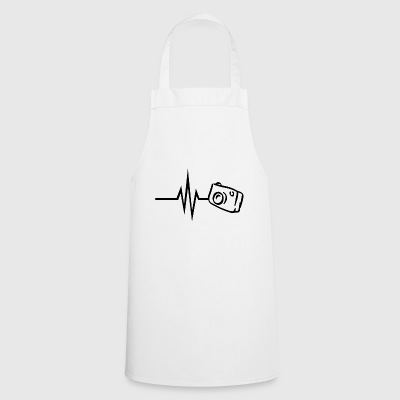 My heart beats for photography camera photographer - Cooking Apron