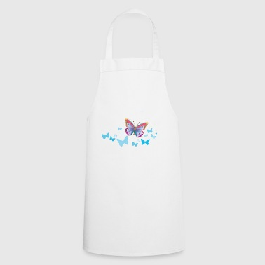 Butterflies moth insects spring summer - Cooking Apron