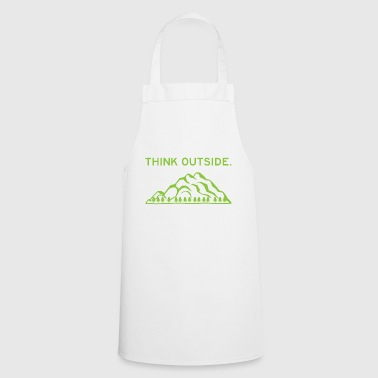 Think Outside No box Necessary Gift - Cooking Apron