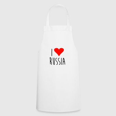 Love i love russia - Cooking Apron