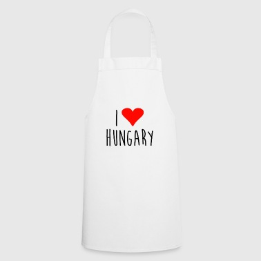 Love i love hungary - Cooking Apron