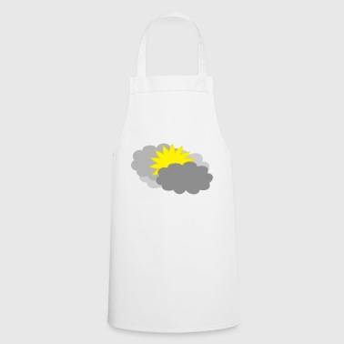 rainbow sun clouds weather rainbow sun cloud17 - Cooking Apron