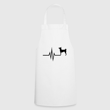 My heart beats for dogs - Basenji dog breed - Cooking Apron