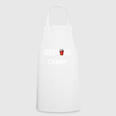Beer Pong Champ drinking game - Cooking Apron