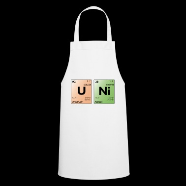 UNI periodic table - Cooking Apron