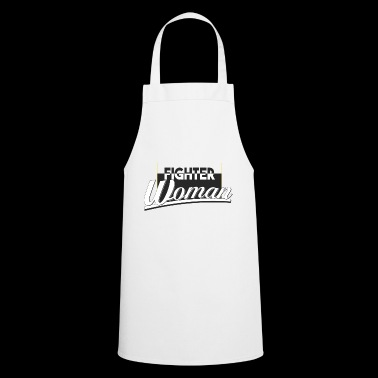fighter woman - Cooking Apron