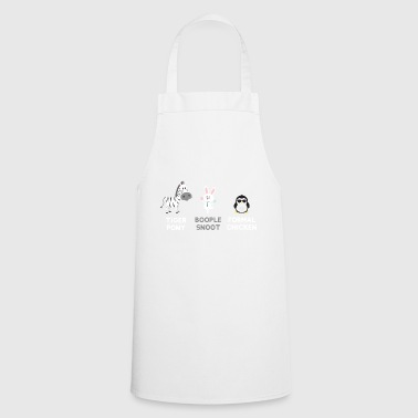 Zebra - Rabbit - Penguin or Tiger Pony .... - Cooking Apron
