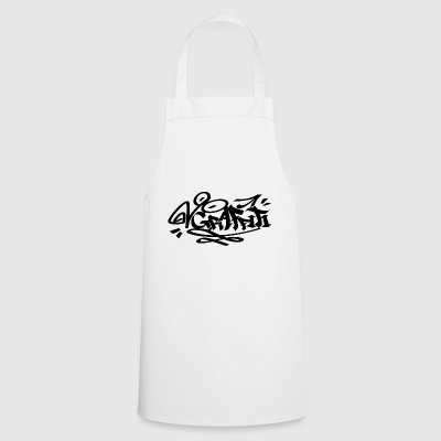 BLACK Graffiti - Cooking Apron