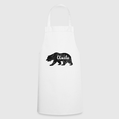 Uncle Bear Gifts idea for uncles. Camping Wildlife - Cooking Apron