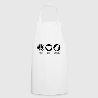 Peace Love Avocado - Cooking Apron