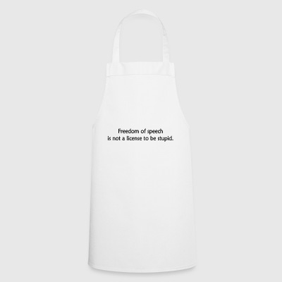 Freedom of speech - Cooking Apron