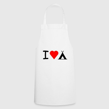 I love camping - Cooking Apron