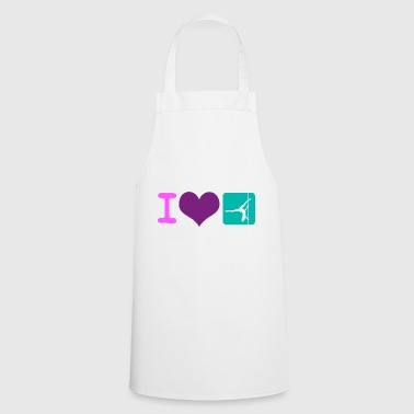 I love Pole Dance Pole Fitness Gift - Cooking Apron