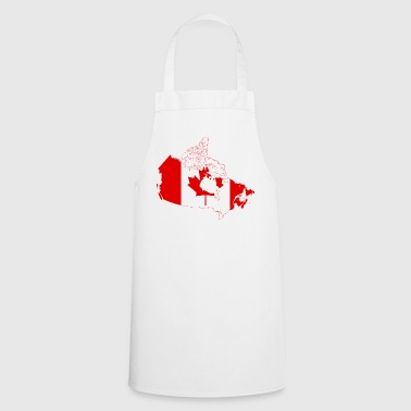 Map of Canada - Cooking Apron
