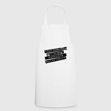 Motive for cities and countries - MADAGASCAR - Cooking Apron