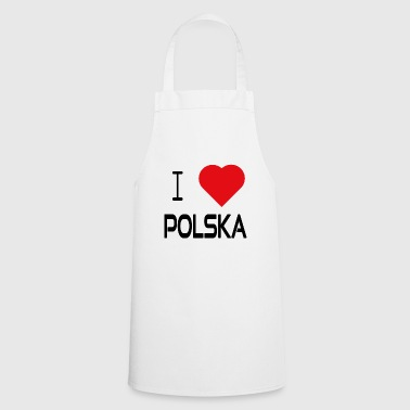 I Love Polska I - Cooking Apron