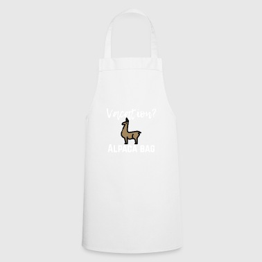 Vacation? - Cooking Apron
