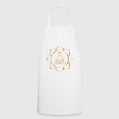 Buddha - Gold - Cooking Apron