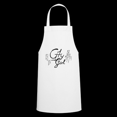 Scripture City Girl (Vector Art) - Cooking Apron