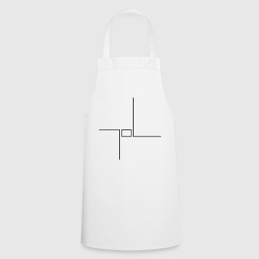 Lines with rectangle - Cooking Apron