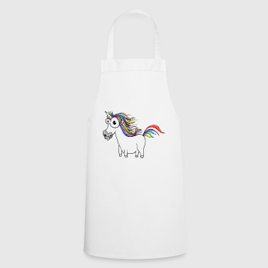 Unicorn Unicorn Cartoon Funny - Cooking Apron