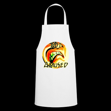 Not amused - Cooking Apron