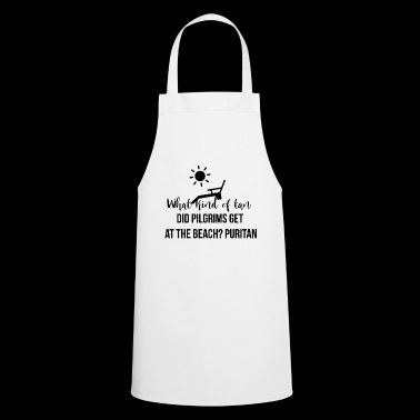 What kind of tan did pilgrims get at the beach? - Cooking Apron