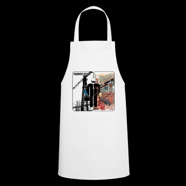 Civil engineer a day - Rocker at night - Cooking Apron