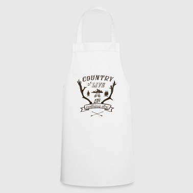 country live - Cooking Apron