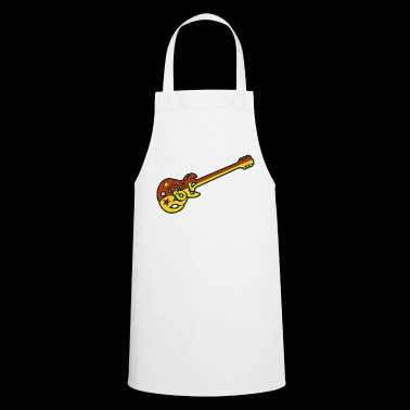 Rock n 'roll guitar - Cooking Apron