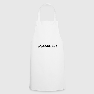 text electrified - Cooking Apron