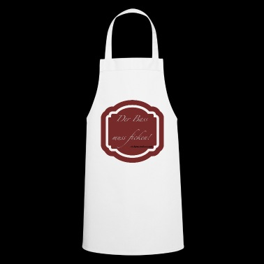 The bass must fuck! -Wolfgang Amadeus Mozart - Cooking Apron