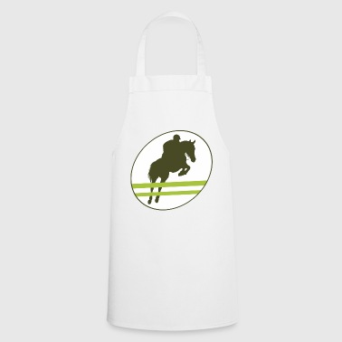 Show jumping, horse, stallion, mare, foal - Cooking Apron