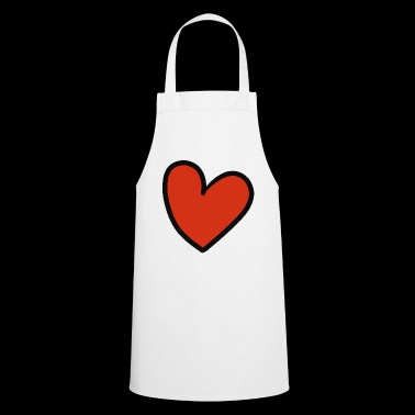 crooked heart - Cooking Apron