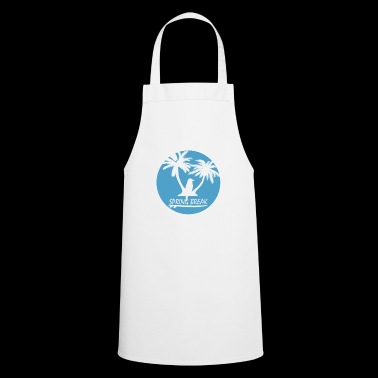 Spring holiday bird palm spring break - Cooking Apron