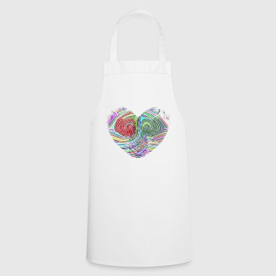 Heart fingerprint - Cooking Apron