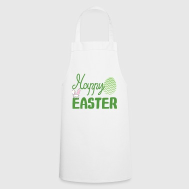 Easter / Easter bunny: Happy Easter - Cooking Apron