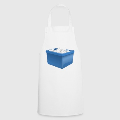 waste paper bin - Cooking Apron