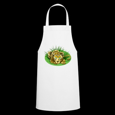 Cheetah in the grass - Cooking Apron