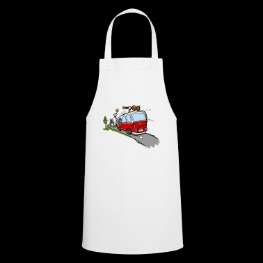 Hippie Van Bus - Cooking Apron