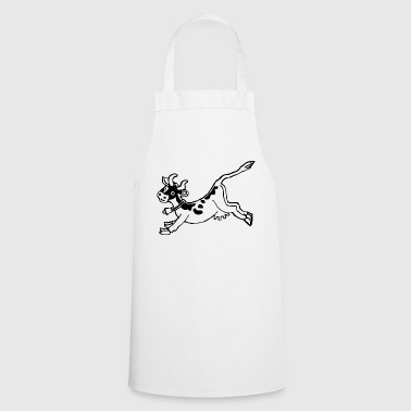 high jump jumping jump jumping ballerina13 - Cooking Apron