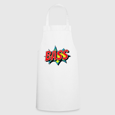 BASS as a comic pop - bass just has to be loud - Cooking Apron