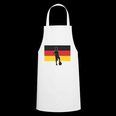 Football Germany black red gold children - Cooking Apron