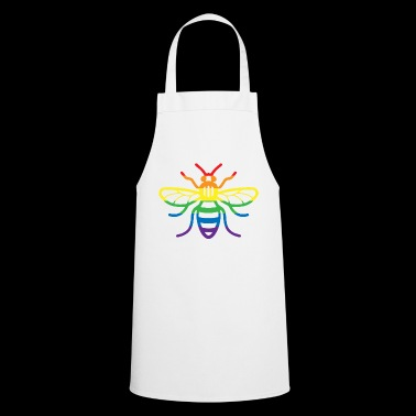 Gay Pride Bee - Cooking Apron