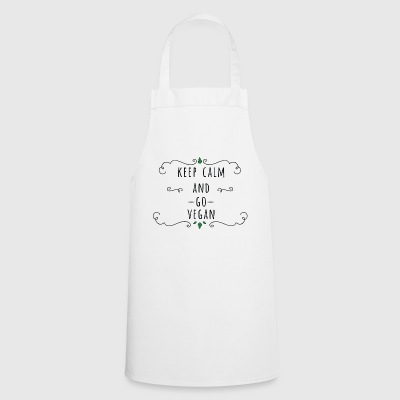 KEEP CALM AND GO - Cooking Apron