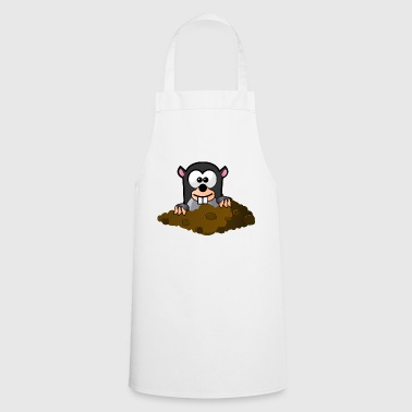 cute mole - Cooking Apron