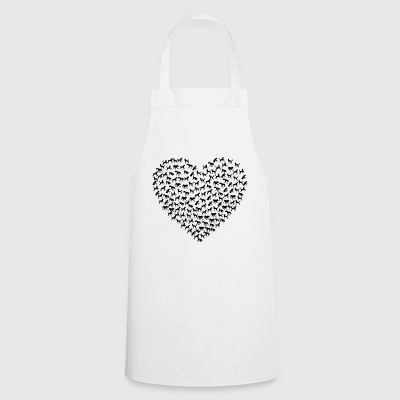 Heart dog - Cooking Apron