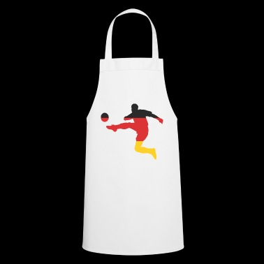 Football Germany black red gold - Cooking Apron